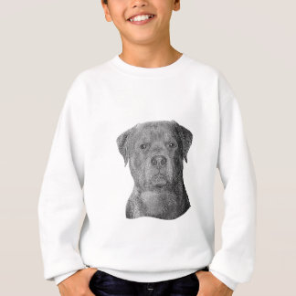 Rottweiler - Stylized Image - Add Your Own Text Sweatshirt