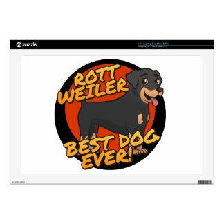 "Rottweiler - the best dog ever! skin for 17"" laptop"