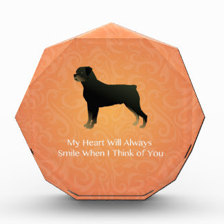 Rottweiler - Thinking of You - Pet Memorial Award