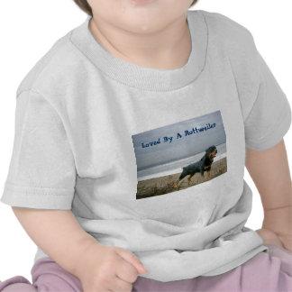 Rottweiler Todler T-shirt Beach