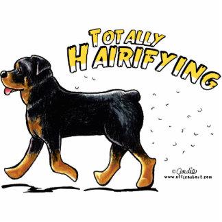 Rottweiler Totally Hairifying Statuette