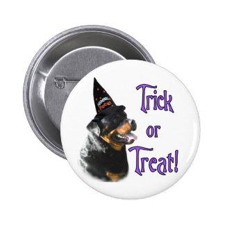 Rottweiler Trick Pinback Button
