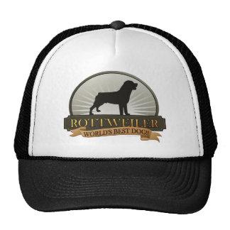 Rottweiler Trucker Hat