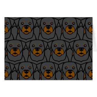 Rottweilers Card
