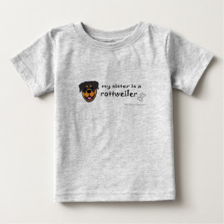 RottweilerSister Baby T-Shirt