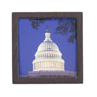 Rotunda of U.S. Capitol at night, Washington Premium Jewelry Box