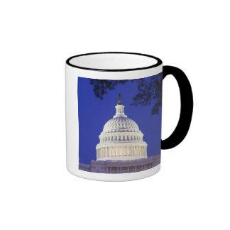 Rotunda of U.S. Capitol at night, Washington Ringer Mug