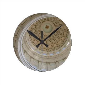 Rotunda-State Capitol Building, Austin, TX Round Clock
