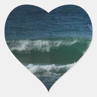 Rotura de Burleigh Pegatina En Forma De Corazón