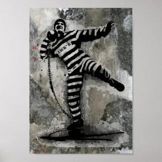 Rotura de la cárcel póster