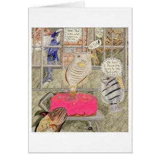 Rotura de la cárcel tarjeta de felicitación