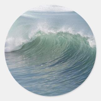 Rotura de la onda etiqueta