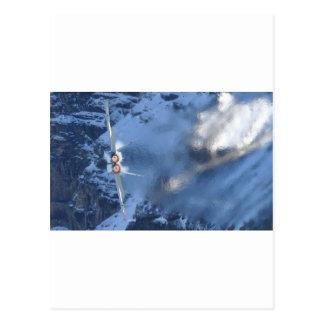 Rotura del dispositivo de poscombustión F-14 en el Tarjetas Postales