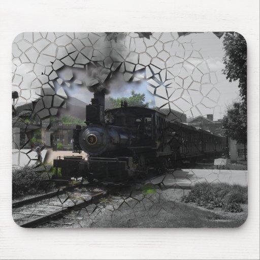 Rotura en el tren directo tapete de ratón