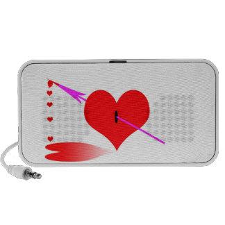 rotura y renacimiento del corazón mp3 altavoz