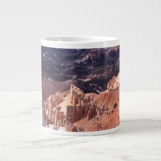 Roturas del cedro taza de café grande