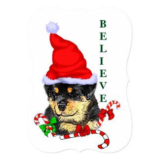 Rotweiler Christmas Card
