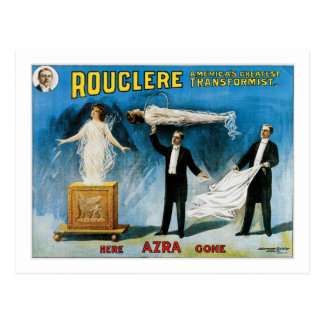 Rouclere America s Greatest Transformist Post Card