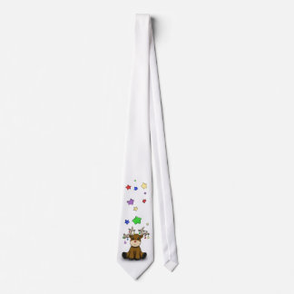Roudolf con las estrellas coloreadas corbata personalizada