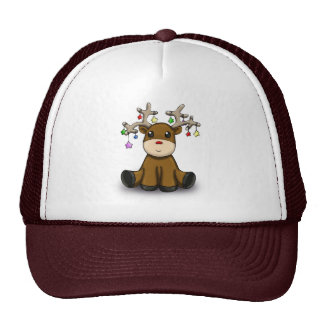 Roudolf with Colored Stars Trucker Hat