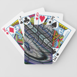 Roue d'acier bicycle playing cards