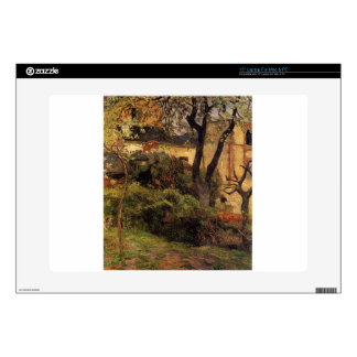 Rouen at spring by Paul Gauguin Decals For Laptops