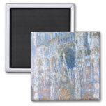 Rouen Cathedral 2 Inch Square Magnet
