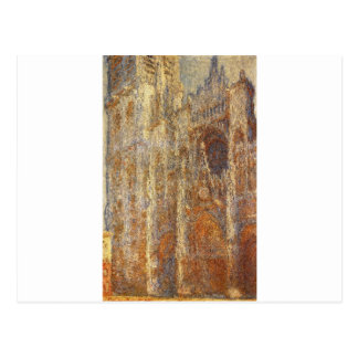 Rouen Cathedral at Noon by Claude Monet Postcard