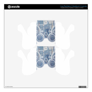 Rouen Cathedral, Clear Day by Claude Monet PS3 Controller Skin