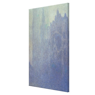 Rouen Cathedral, Foggy Weather, 1894 (oil on canva Canvas Print