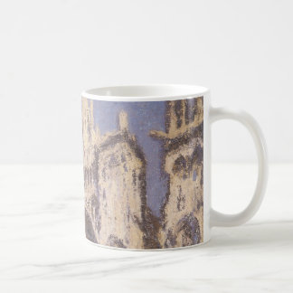 Rouen Cathedral, Harmony Blue Gold by Claude Monet Coffee Mug