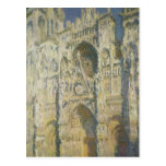 Rouen Cathedral in Full Sunlight Postcard