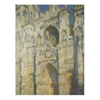 Rouen Cathedral in Full Sunlight Post Card
