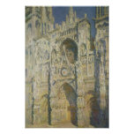 Rouen Cathedral in Full Sunlight Poster