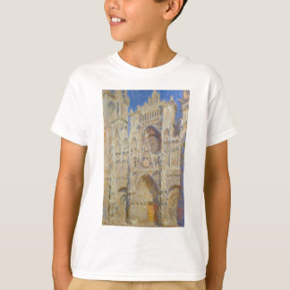 Rouen Cathedral, Portal in the Sun by Claude Monet T-Shirt