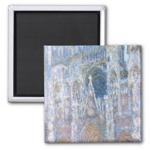 Rouen Cathedral Refrigerator Magnet
