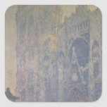 Rouen Cathedral Square Sticker
