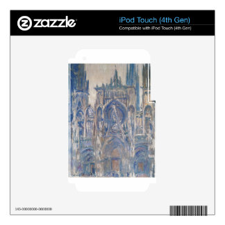 Rouen Cathedral, Study of the Portal by Claude iPod Touch 4G Skin