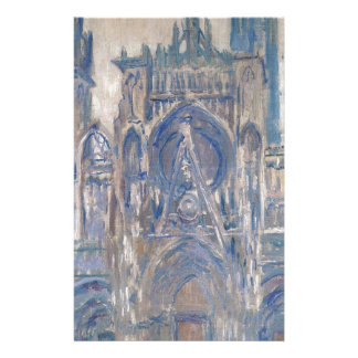 Rouen Cathedral, Study of the Portal by Claude Stationery
