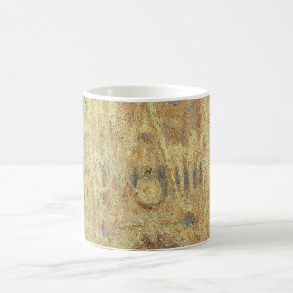 Rouen Cathedral, Sunset by Claude Monet Coffee Mug