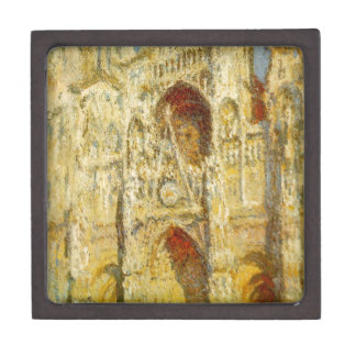 Rouen Cathedral, The Gate and The Tower by Claude Jewelry Box