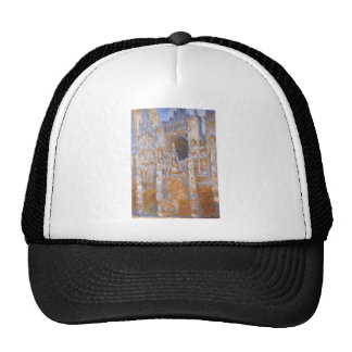 Rouen Cathedral, The Portal at Midday by Claude Trucker Hat