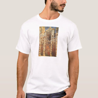 Rouen Cathedral, the Portal by Claude Monet T-Shirt