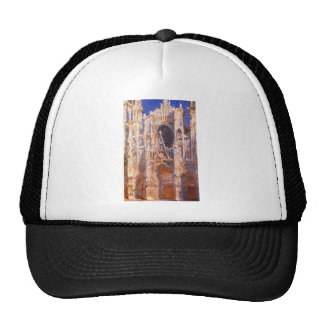 Rouen Cathedral, the Portal in the Sun by Claude Trucker Hat
