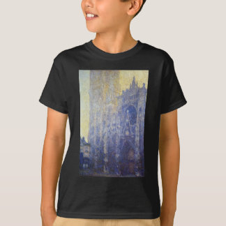 Rouen Cathedral, the Portal, Morning Effect T-Shirt