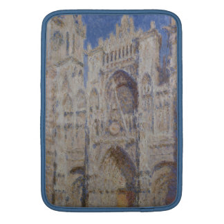 Rouen Cathedral: The Portal Sunlight, Claude Monet MacBook Air Sleeves