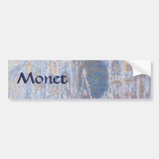 Rouen Cathedral West Facade by Claude Monet Bumper Stickers