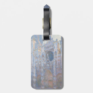 Rouen Cathedral West Facade by Claude Monet Bag Tag