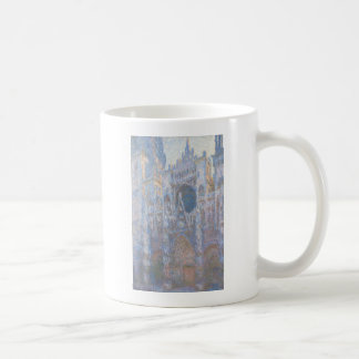 Rouen Cathedral West Facade by Claude Monet Mugs