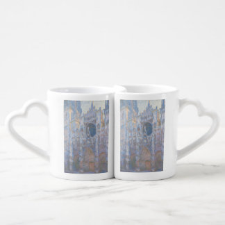 Rouen Cathedral West Facade by Claude Monet Lovers Mugs